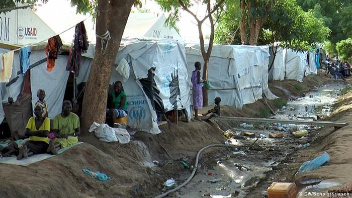 Flüchtlingslager Tomping in Juba im Südsudan (Foto: DW)
