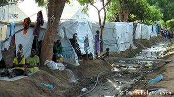 Flüchtlingslager Tomping in Juba Südsudan