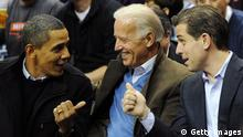 USA Barack Obama Joe Biden und Hunter Biden
