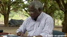 Mosambik Afonso Dhlakama Führer der Oppositionspartei RENAMO 2012