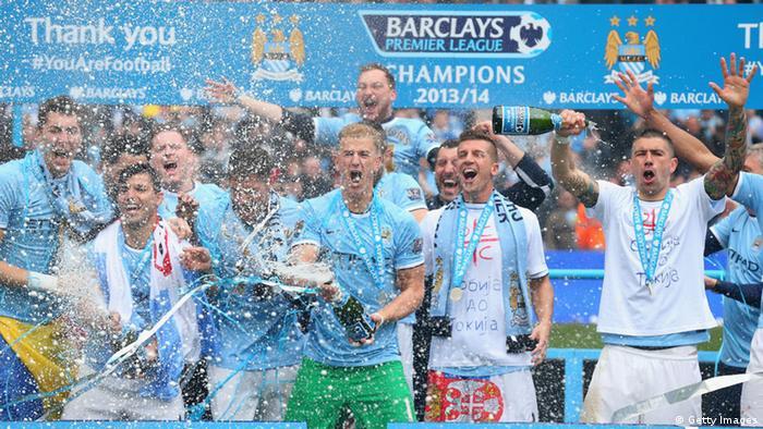 Fußball Manchester City - Meisterschaft West Ham