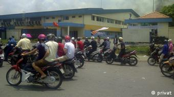 Anti-China-Proteste im Industriegebiet in der Provinz Binh Duong, Vietnam