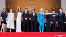 Cannes Film Festival 2014 Rot Teppich Juroren 14.05.2014