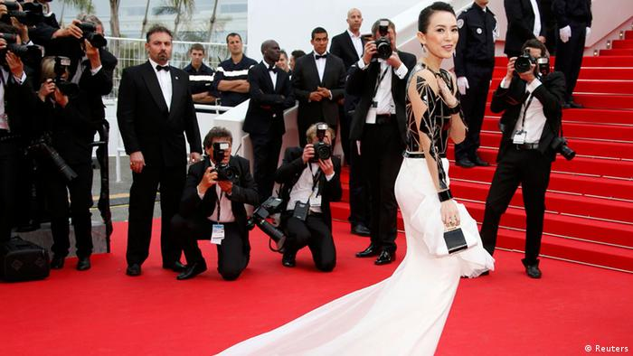 Cannes Film Festival 2014 Zhang Ziyi 14.05.2014