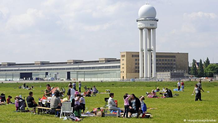 Bildergalerie Tempelhofer Feld Grillen