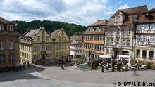 Stadtansicht von Schwäbisch Hall (derzeit Treffunkt des deutschen P.E.N.) DW/ Jochen Kürten Mai 2014