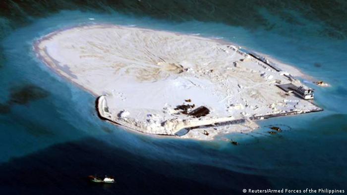 Südchinesisches Meer Konflikt Chigua oder Mabini