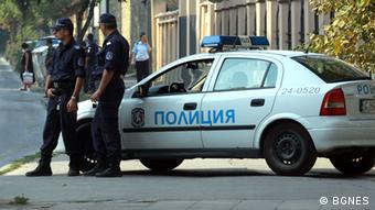 Polizisten in Sofia