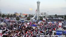 Massenproteste in Bahrain