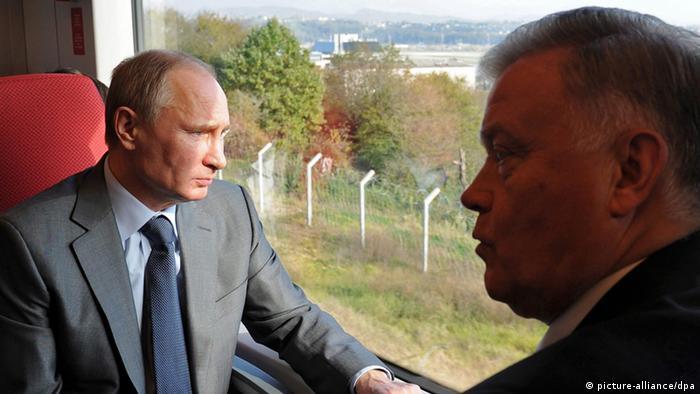 Vladimir Putin und Vladimir Yakunin