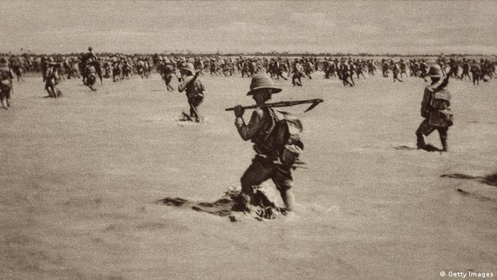 Britische Truppen in Mesopotamien, 1. Weltkrieg