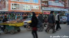 Straßenszene Kabul