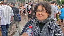 Drauf: Elena Gremina, Chefin des unabhängigen moskauer Theaters TEATR.DOC Ist ihr privates Foto, das sie uns zur Verfügung stellt. Copyright: privat.