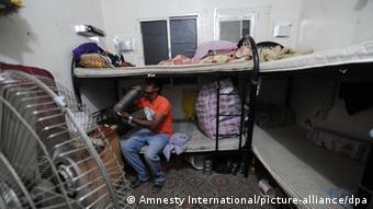 نهادهای حقوق بشری تا کنون بارها از وضعیت مسکونی اسفبار کارگران مهاجر در قطر انتقاد کردهاند