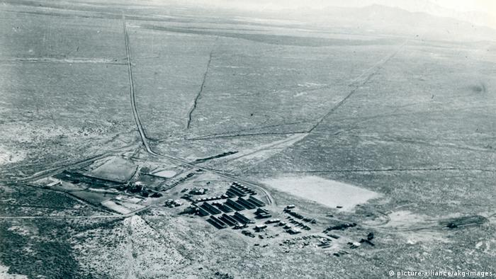Erster Atombombentest 1945 New Mexico USA (picture-alliance/akg-images)