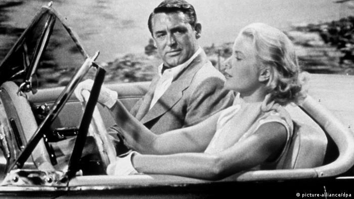 Filmszene Alfred Hitchcock Über den Dächern von Nizza
