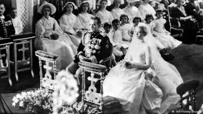 Hochzeit Grace Kelly Fürst Rainier von Monaco