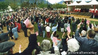 Sarnen Schweiz Bürgerversammlung