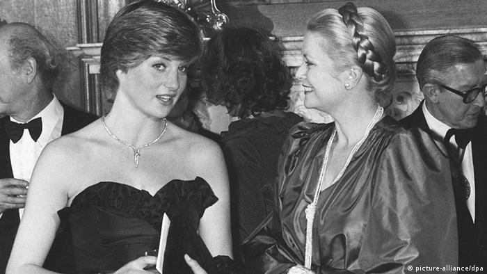 Lady Diana Spencer und Grace Kelly