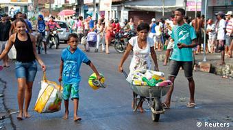 Brasilien Recife Streik der Polizei Plünderungen 15.05.2014