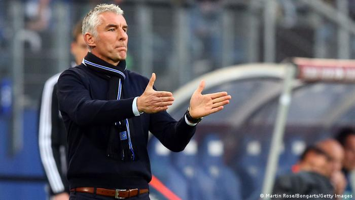 Mirko Slomka als HSV-Trainer. Foto: Getty Images
