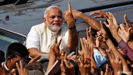 Indien Wahlen Narendra Modi