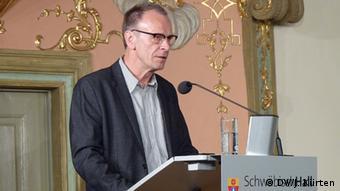 PEN Präsidente Josef Haslinger (Foto: Jochen Küüten)