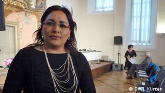 die mexikanische Autorin Ana Lilia Pérez (Foto: Jochen Kürten)