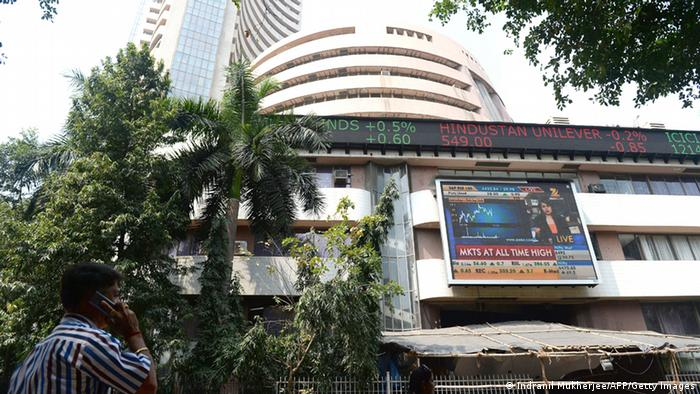 Sensex Index Börse Mumbai 2014 (Indranil Mukherjee/AFP/Getty Images)