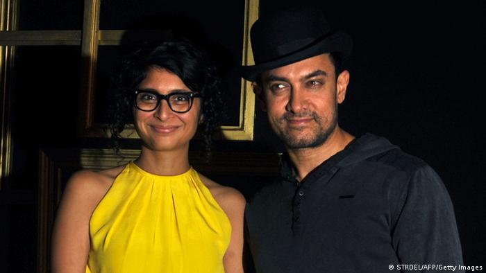 Indien Aamir Khan und Kiran Rao (STRDEL/AFP/Getty Images)