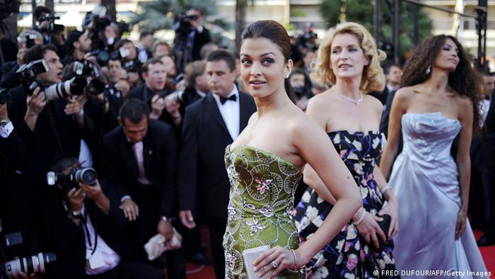 Bildergalerie Aishwarya Rai in Cannes 2008 (FRED DUFOUR/AFP/Getty Images)