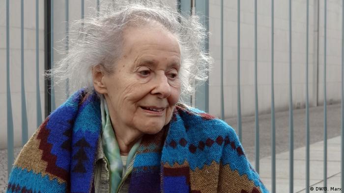 Portrait of Inge Lammel (Photo: DW/Bettina Marx)