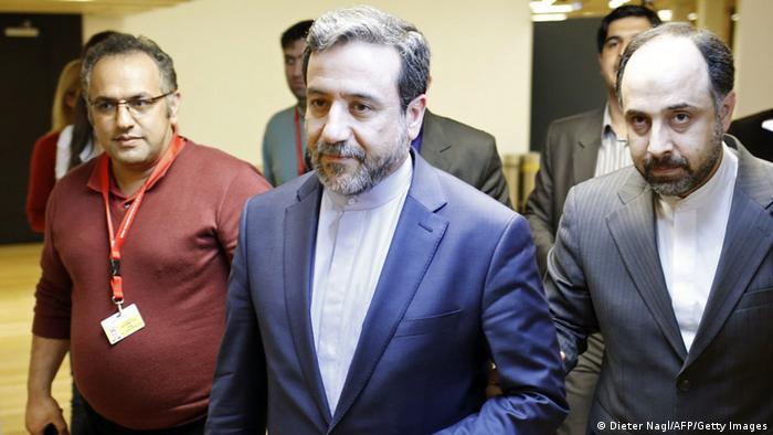 Ujumbe wa Iran kwenye mazungumzo ya Geneva na Marekani kuhusu mpango wa nyuklia wa Iran.