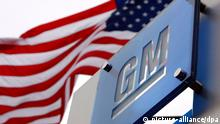 epa04209557 (FILE) A file picture dated 19 November 2008 shows flags fly outside the General Motors World Headquarters in the Renaissance Center in Detroit, Michigan, USA. Reports on 16 May 2014 state the US Transportation Department confirming General Motors will have to pay a record 35 million USD fine after US government investigated how GM dealt with the recall of 2,59 million cars, recalled because of malfunctioning ignition switches. EPA/JEFF KOWALSKY *** Local Caption *** 51307600