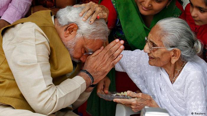 Indien Wahlen 2014 BJP Narendra Modi (Reuters)