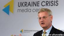 Ukraine Carl Bildt Besuch in Kiew 16.05.2014