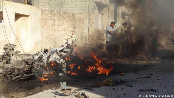 Bürgerkriegsland Syrien - Foto: Abdalghne Karoof (Reuters)