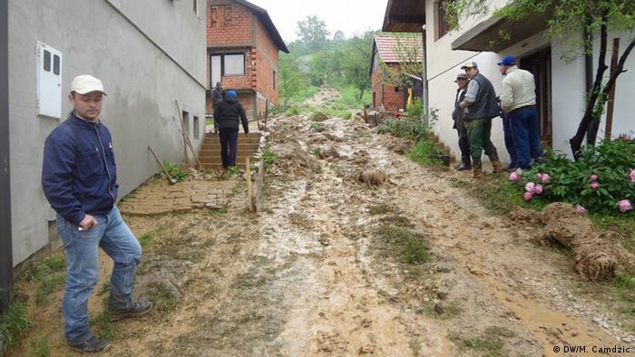 Flut Bosnien 2014. Foto: Mirsad Camdzic