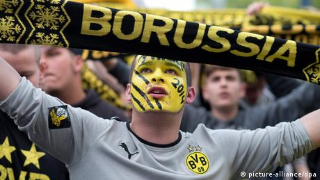DFB - Pokalfinale 2014 Borussia Dortmund gegen Bayern München