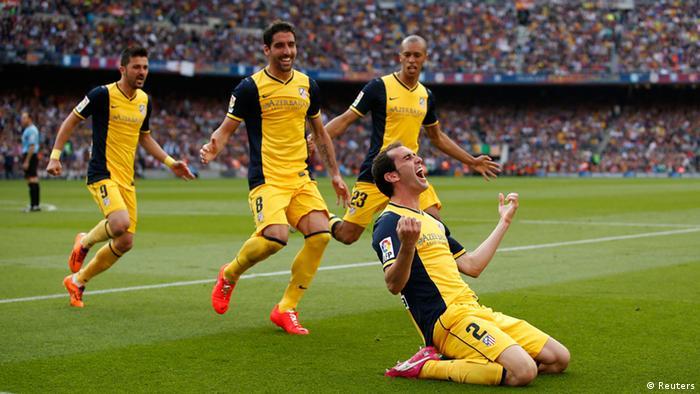 Atletico Madrid Meister