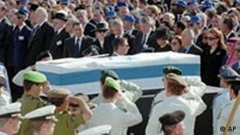 Beerdigung von Izchak Rabin in Jerusalem