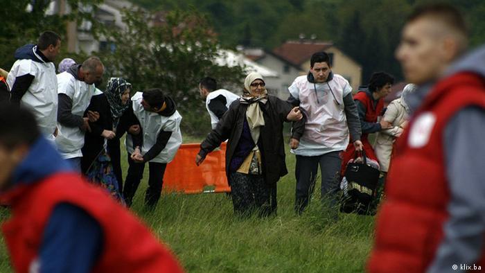 Flut und Überschwemmung in Bosnien und Herzegowina