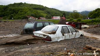 Flut und Überschwemmung Bosnien und Herzegowina 17.05.2014