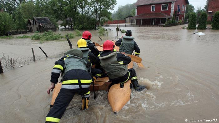 Flut und Überschwemmung Bosnien und Herzegowina 15.05.2014