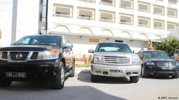 Versteigerung von Autos des ehemaligen tunesischen Diktators Zine el-Abidine Ben Ali
