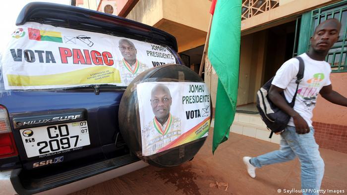 Guinea-Bissau Wahl Wahlkampf Jose Mario Vaz 16.05.2014