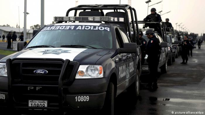Mexiko Guerrero Polizisten