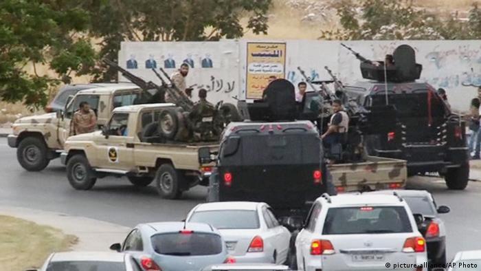 Libyen Tripolis Angriff auf das Parlamentsgebäude 18.5.2014
