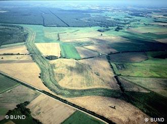 کمربند سبز که پیش از وحدت دو آلمان، مرز آنها بود