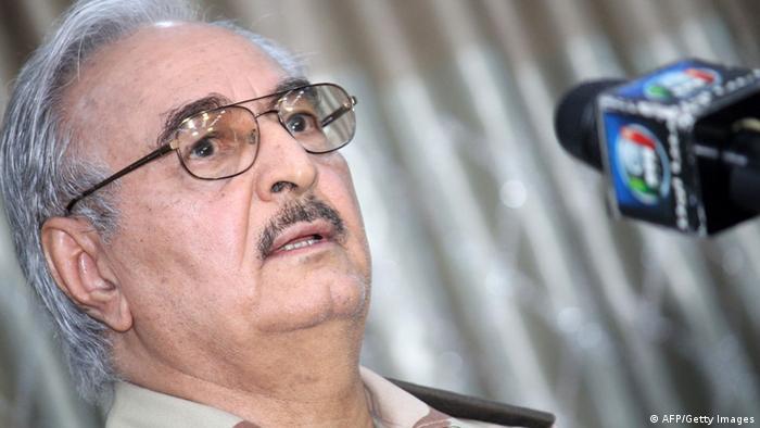 Libyen Pressekonferenz Khalifa Haftar 17.05.2014